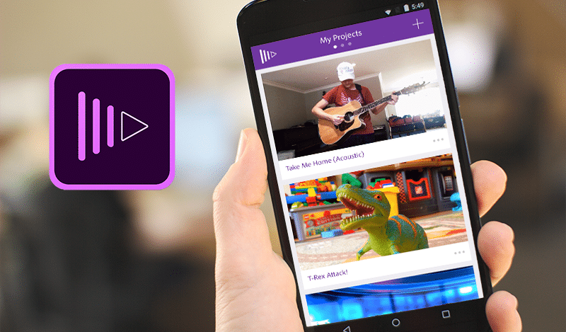 Adobe Premiere Clip on Android