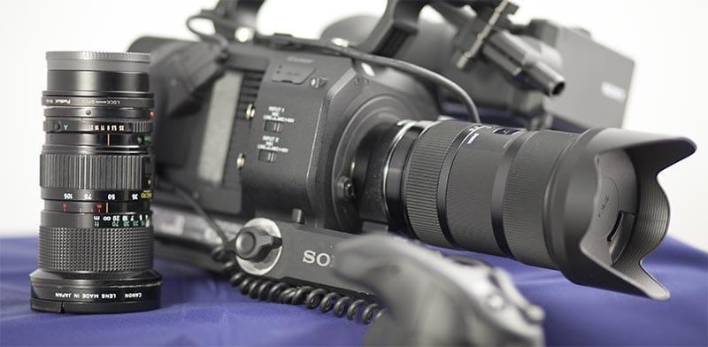 Camera and Lens Sony FS7