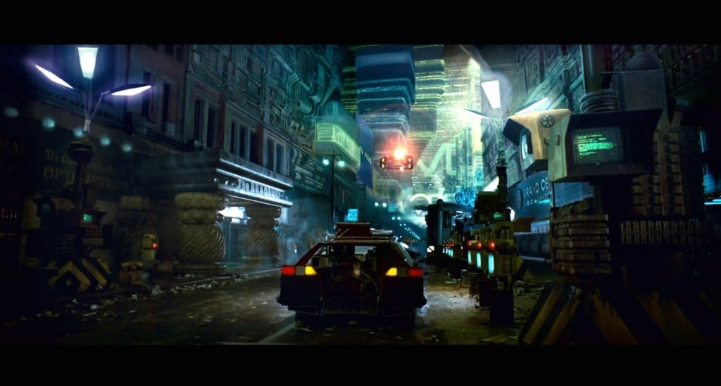 Dark Mechanized Future