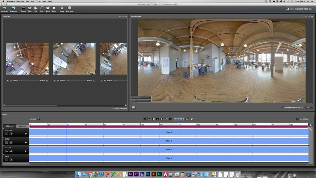 Working with 360 Video