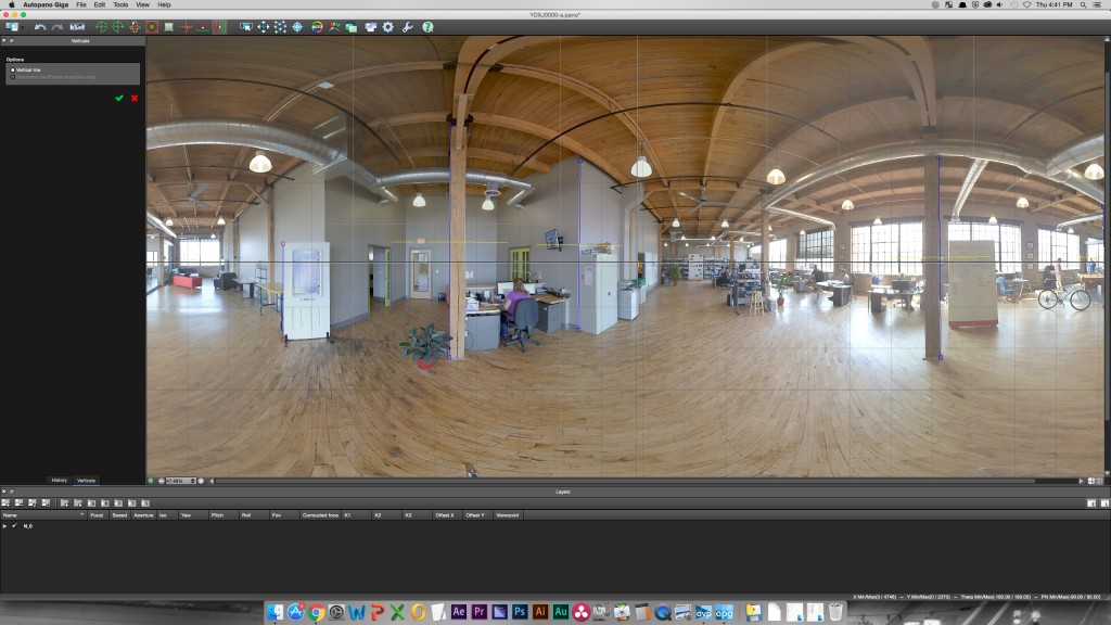 360° video starting to come together