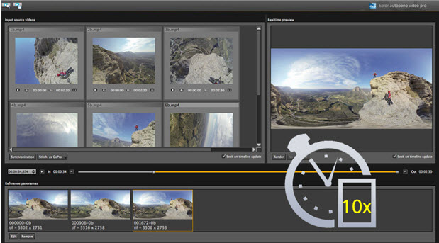 Kolor AVP Video 360° video stitching software