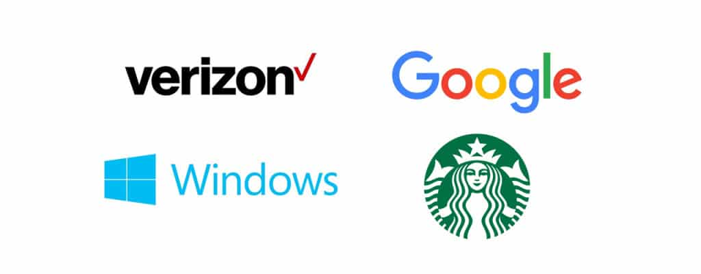 Recent notable brand updates. Some were praised, most were widely condemned.