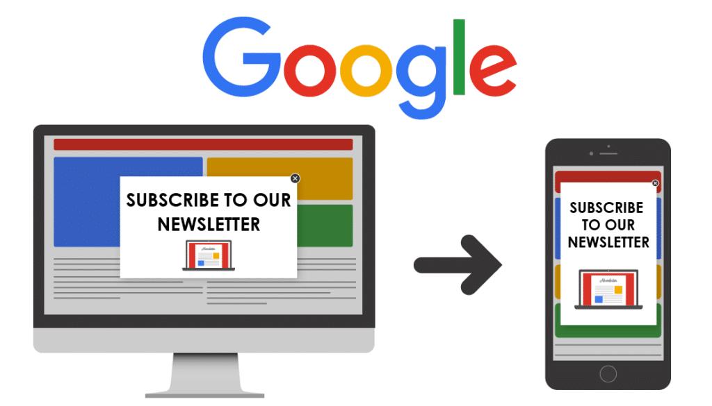 Google and Pop-Ups