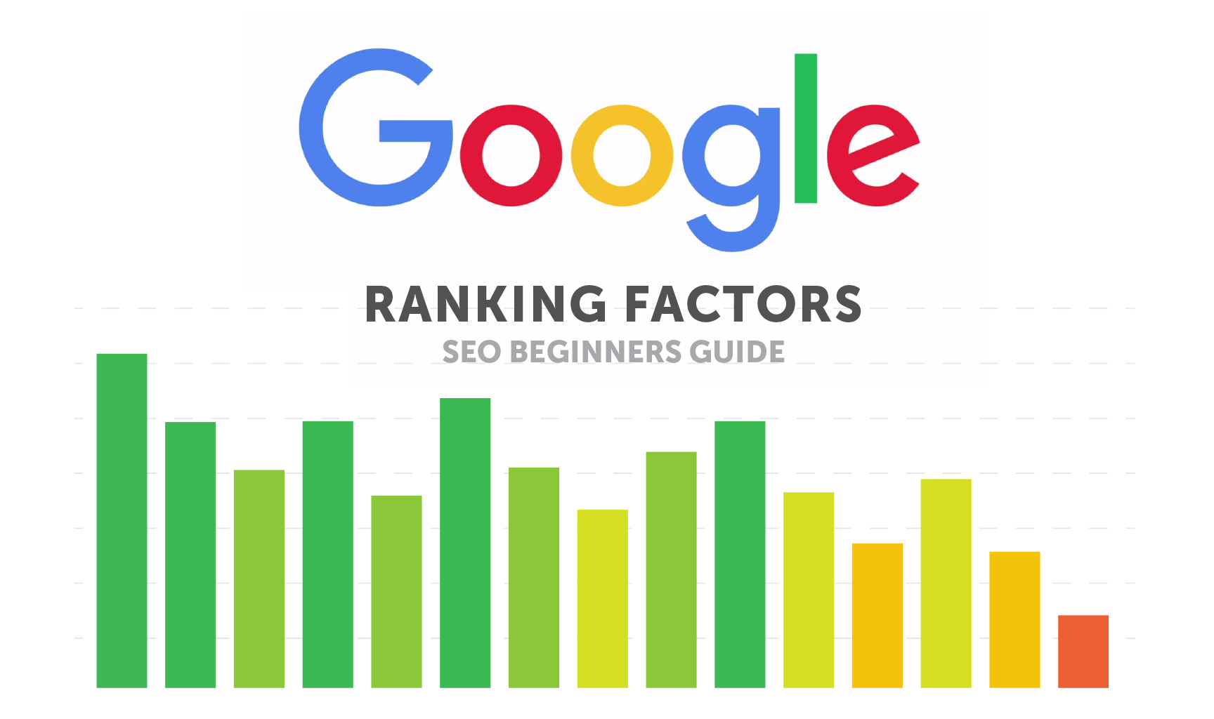 Google Ranking Factors: An SEO Beginners Guide