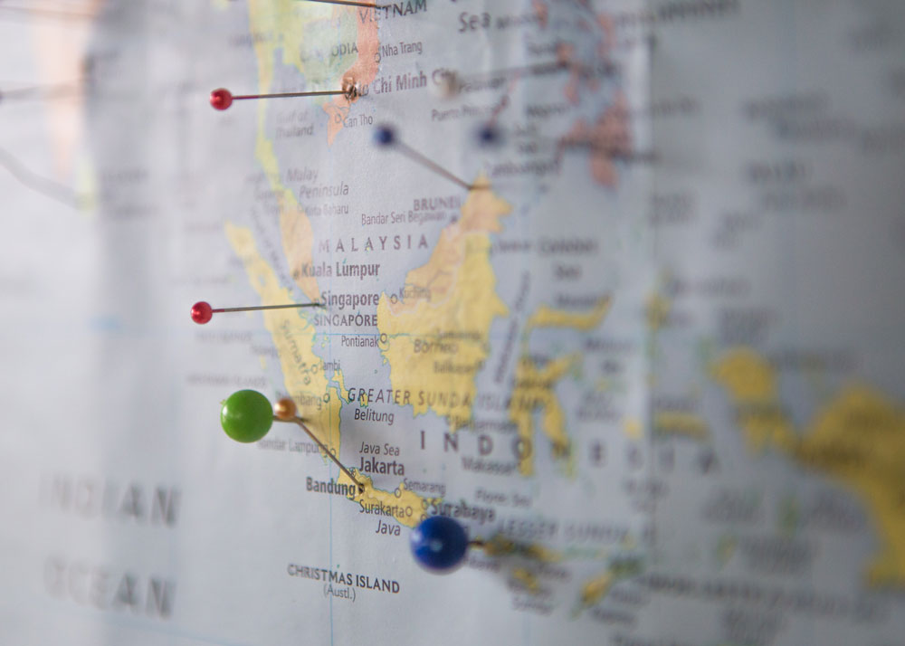 Map Pins Identifying your Who