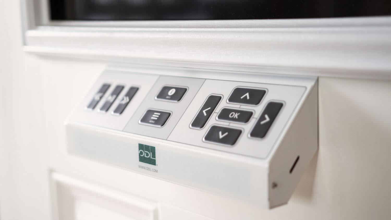 Digital door display control panel