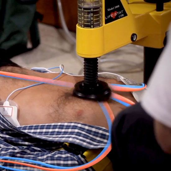 Life-Stat Hands-Free CPR System – Michigan Instruments