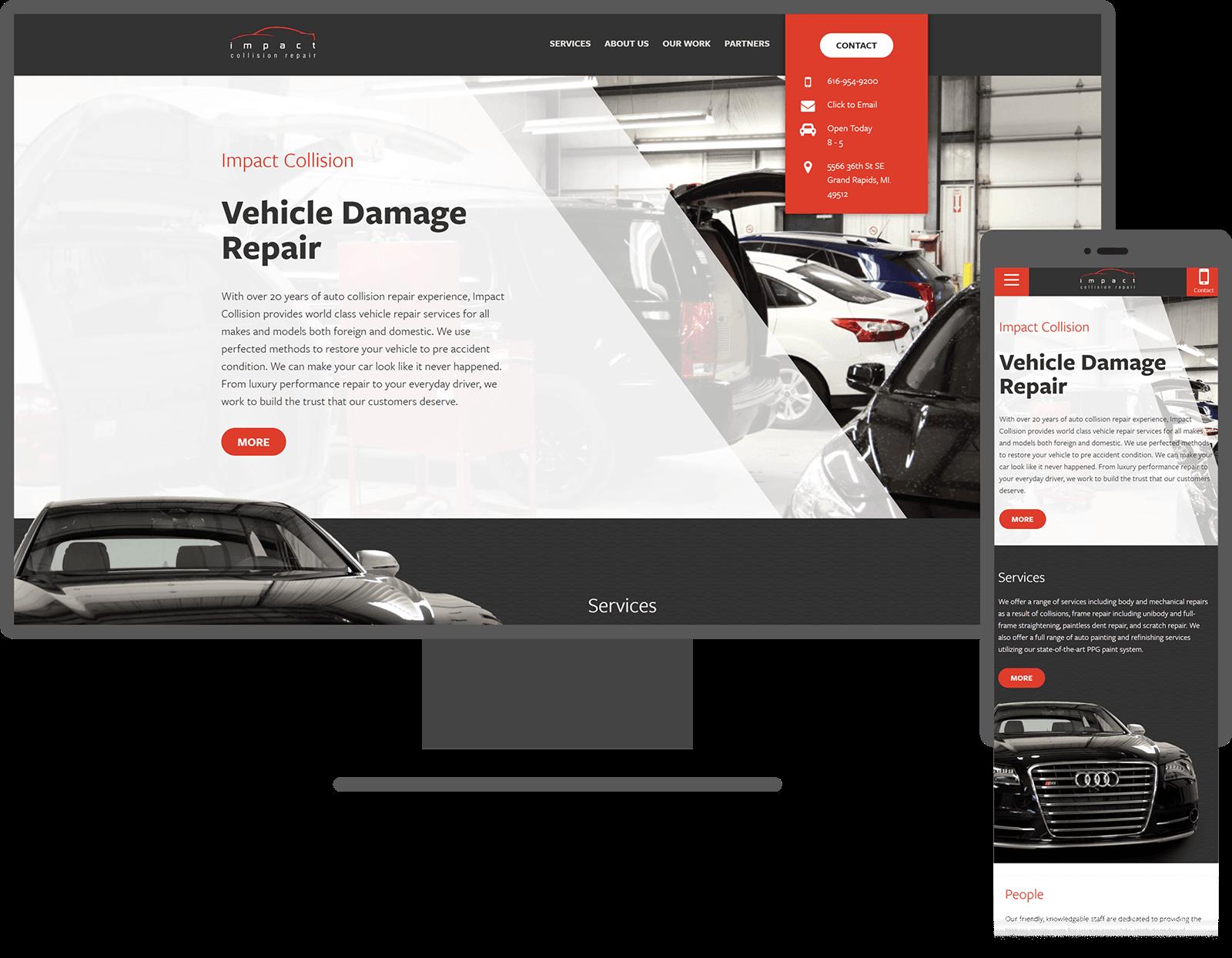 impact-collision-website-mockup