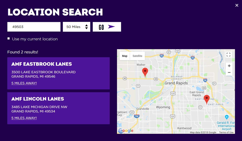 Bowlero-Corporation-Location-Finder