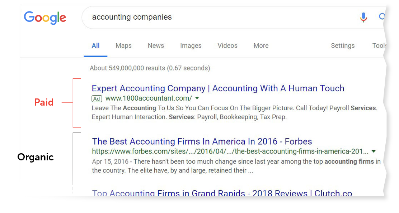 paid-vs-organic-search