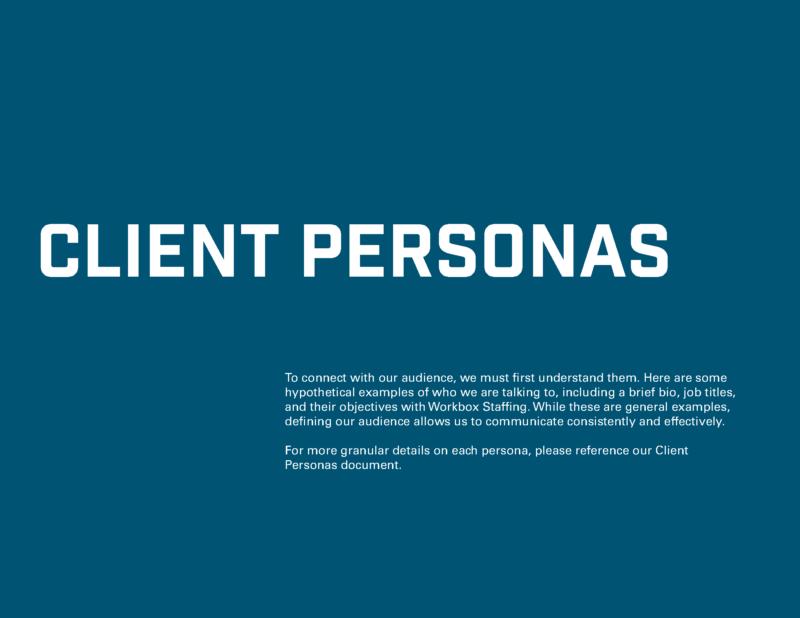DVS Portfolio - Workbox Brand Guide Page 1