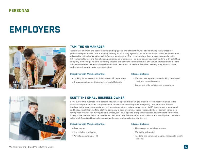 DVS Portfolio - Workbox Brand Guide Page 6