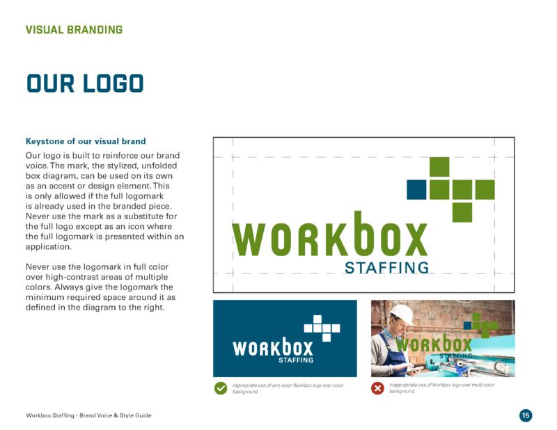 DVS Portfolio - Workbox Brand Guide Page 5