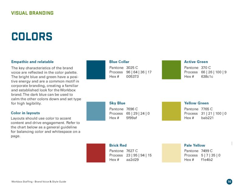 DVS Portfolio - Workbox Brand Guide Page 4