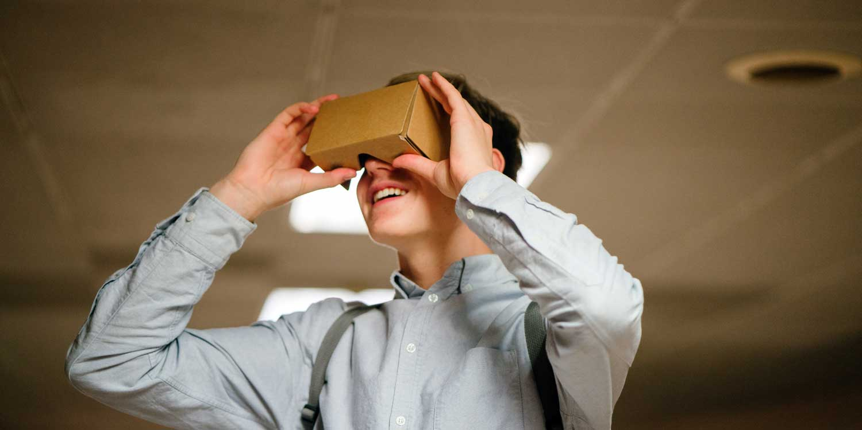 vr cardboard viewer